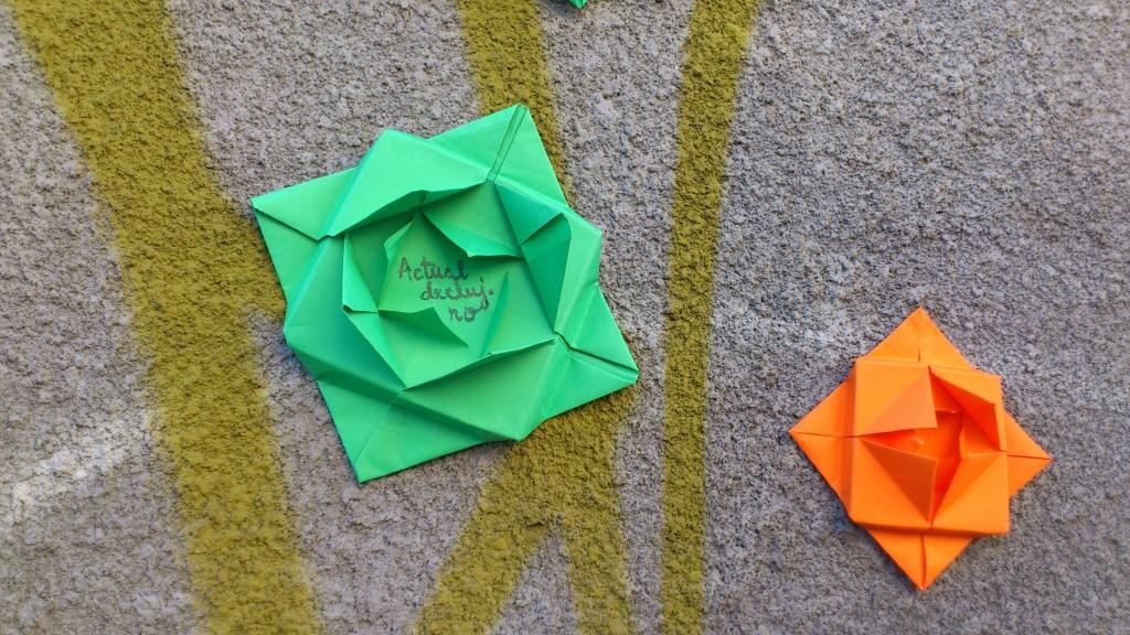 actual origami