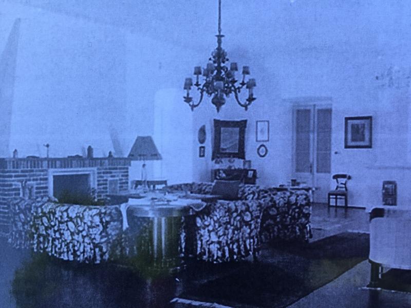 salon din Castel 1940