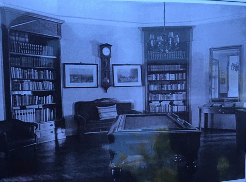 salon din Castel în 1940