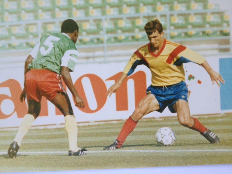 Ioan Ovidiu Sabău a fost un om de bază în naționala României din preliminariile Campionatului Mondial din SUA 1994    foto: Sabău, arhiva personală