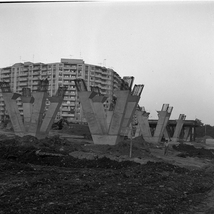 calvaria podul 1983-1984