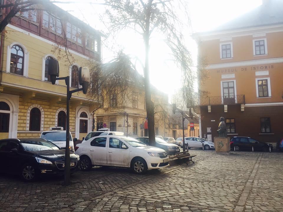 Piața Muzeului, 9 decembrie, sursa foto: Facebook