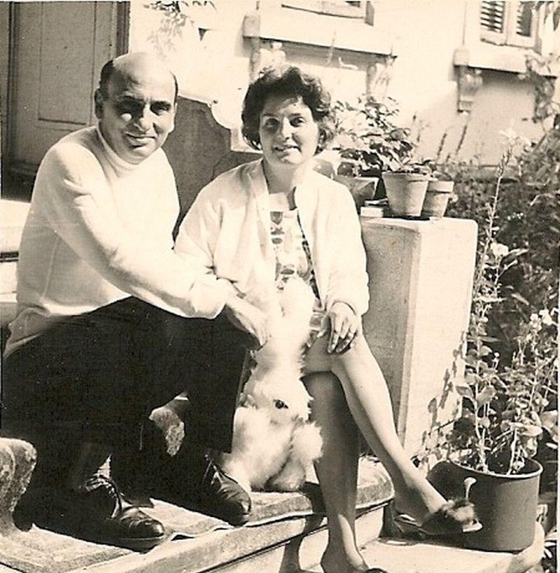 Dinu și Cornelia Pillat