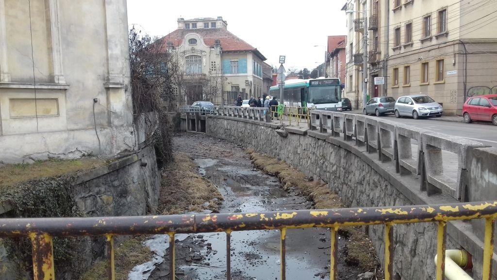 Canalul Morii, în apropiere de Parcul Central