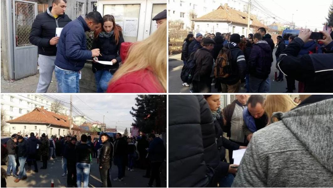 Cozi la Cluj, 28 februarie-1 martie sursa foto: Radio Cluj