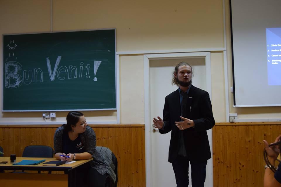 Sursa foto: Asociația Științifică a Studenților Mediciniști Brașoveni - ASSM
